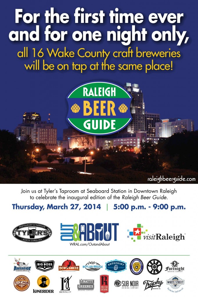 Raleigh Beer Guide Launch Party at Tyler's Taproom
