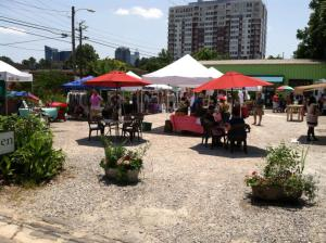 Pop-up Sunday in Downtown Raleigh
