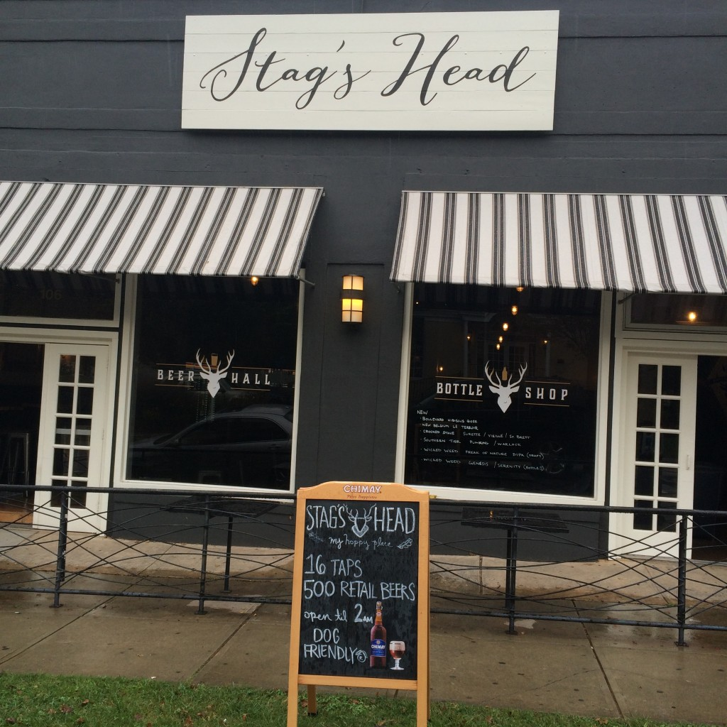 Stag's Head Bottle Shop Now Open on Glenwood South