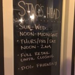 Stag's Head in Downtown Raleigh