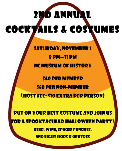 Save the Date: Halloween Party at NC Museum of History