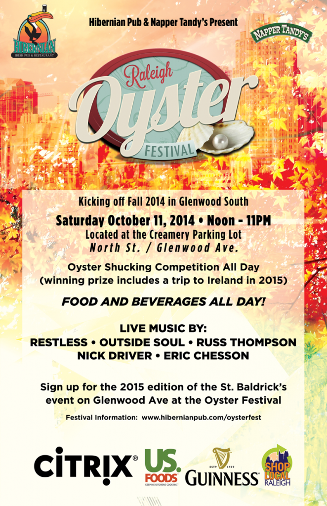 Oysterfest Returns to Glenwood South This Weekend