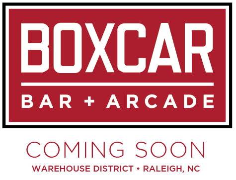 Boxcar Bar + Arcade in Downtown Raleigh