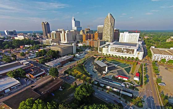 Downtown Raleigh Skyline photo contest winner