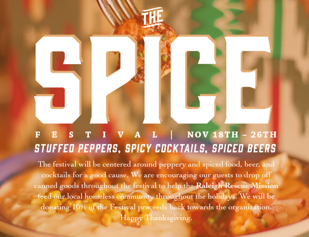 Spice Festival Starts Next Week at Jose & Sons