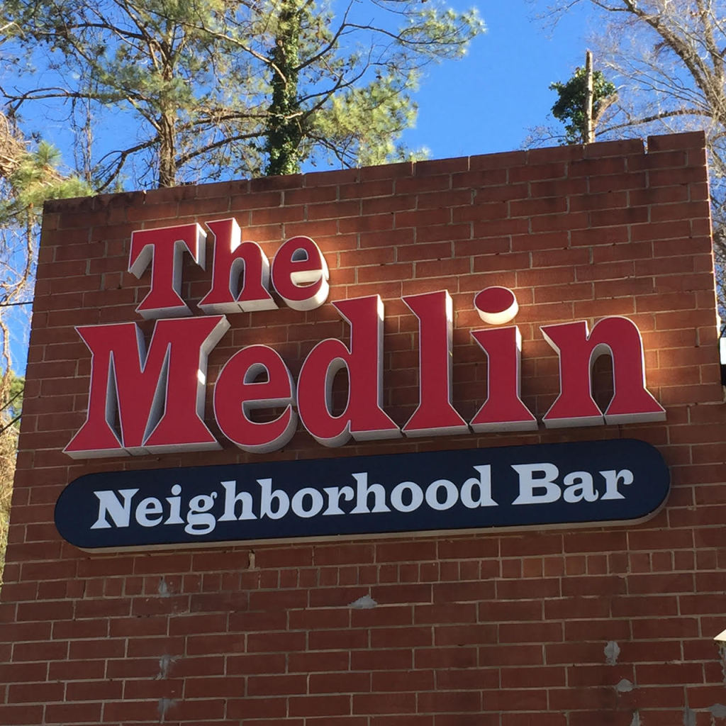 The Medlin bar in Raleigh