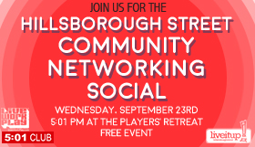 Hillsborough Street CSC Closes Out September with Networking and Bluegrass