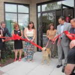 Canine-approved ribbon-cutting at The Lincoln Apartments