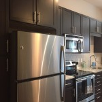Kitchen finishes at The Lincoln Apartments