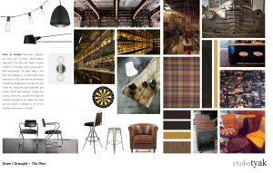 Possible interior design influences for Dram and Draught