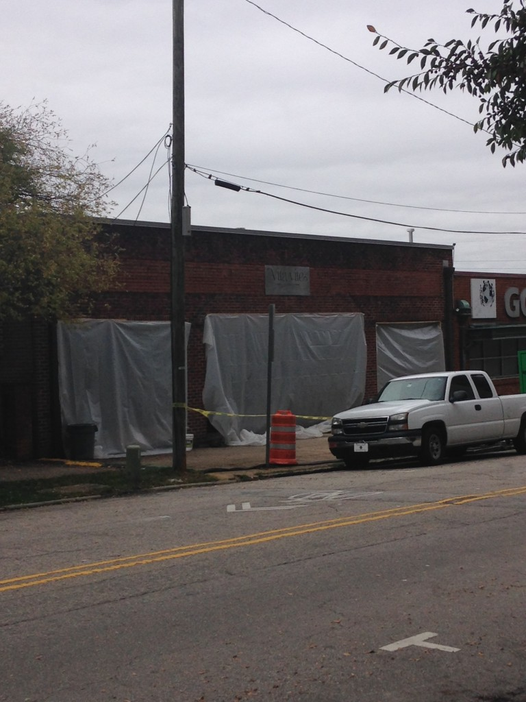 Vita Vite Wine Bar Coming to Hargett Street - Thanks Ryan Boone for the snapshot!