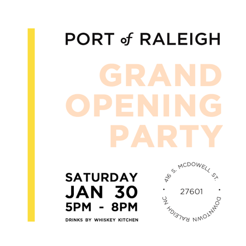 Port of Raleigh Decorative Retailer Now Open in the L Building