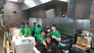 DTRNews.com | Downtown Raleigh News | b.good's Downtown Raleigh team ready for action