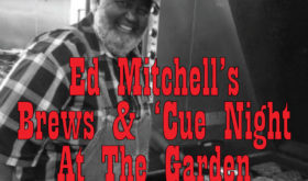 Ed Mitchell Bringing His 'Cue Downtown in September