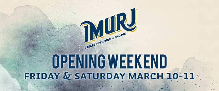 Imurj opening weekend programming