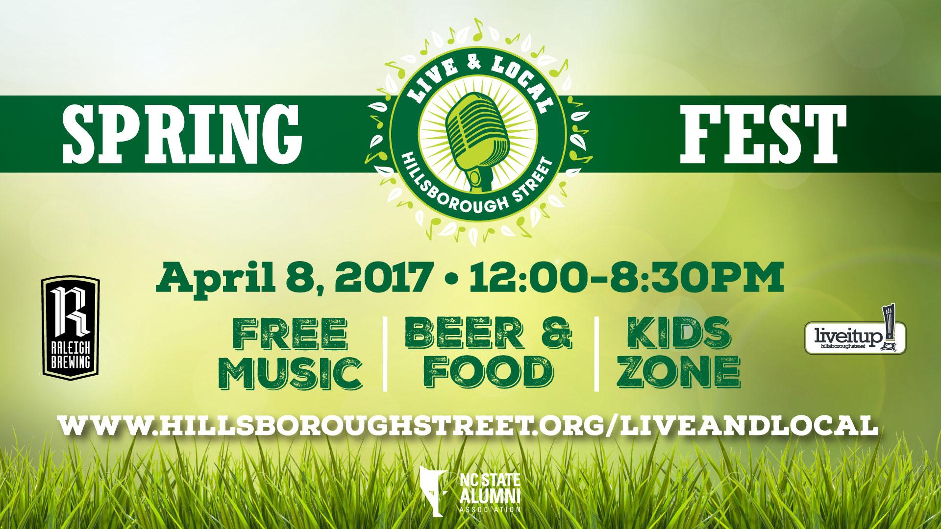 Spring Fest on Hillsborough Street