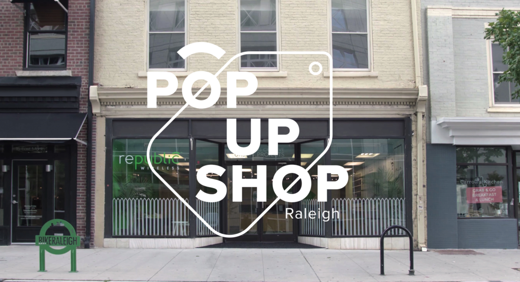 Republic Wireless Downtown Raleigh Pop Up Shop